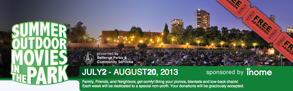 Summer Movie Nights in Downtown Bellevue 2013