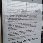 Bill the Butcher Closes in Bellevue