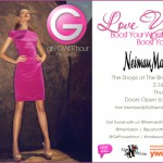Molly Mesnick Emcees Girl Power Hour Fashion Event at Neiman Marcus