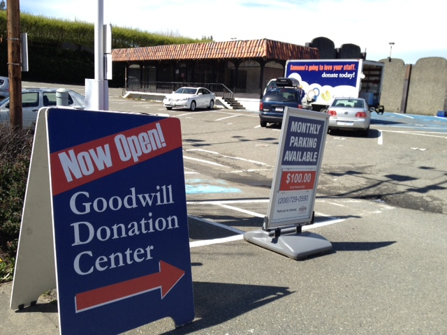 Goodwill Downtown Bellevue Pickup location