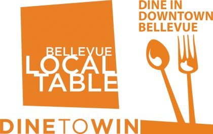 Dine to Win Downtown Bellevue Promotion