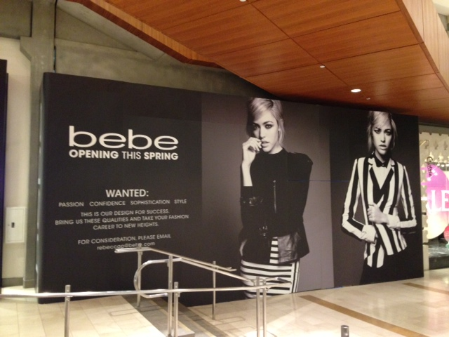 New Store Updates at Bellevue Square: Bebe, Faconnable, and Lego